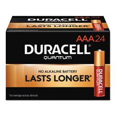 DURQU2400BKD - Duracell® Quantum Alkaline Batteries with Duralock Power Preserve Technology™