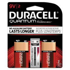DURQU9V2BCD - Duracell® Quantum Alkaline Batteries with Duralock Power Preserve™ Technology