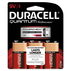 DURQU9V3BCD - Duracell® Quantum Alkaline Batteries with Duralock Power Preserve™ Technology