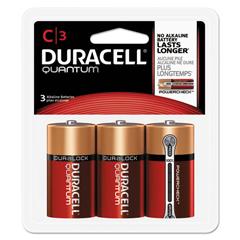 DURQUC3RFP - Duracell® Quantum Alkaline Batteries with Duralock Power Preserve™ Technology
