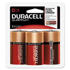 DURQUD3RFP - Duracell® Quantum Alkaline Batteries with Duralock Power Preserve™ Technology
