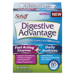 DVA96949EA - Digestive Advantage® Fast Acting Enzyme plus Daily Probiotic Capsule