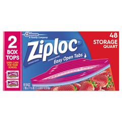 DVOCB003103CT - Ziploc® Double Zipper Storage Bags