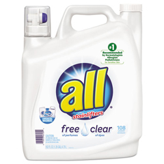 DVOCB461391 - Diversey™ All® Free Clear 2x Liquid Laundry Detergent