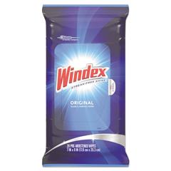 DVOCB702325 - Windex® Glass & Surface Wet Wipes