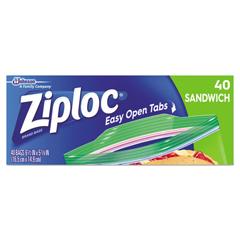 DVOCB711398CT - Ziploc® Resealable Sandwich Bags