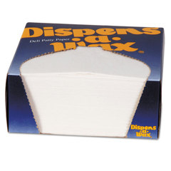 DXE434BX - Dixie® Dispens-A-Wax® Waxed Deli Patty Paper