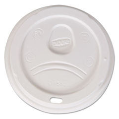 DXED9550CT - Dixie® Sip-Through Dome Hot Drink Lids