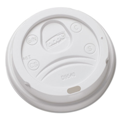 DXEDL9540CT - Dixie Sip-Through Dome Hot Drink Lids