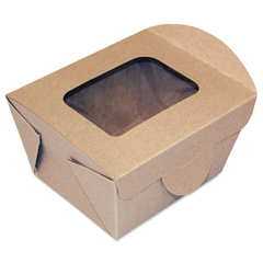 DXEFF4X3X3 - Dixie Windowed Food Container