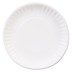 DXEMGVP06W - Mardi Gras™ Clay Coated Paper Plates