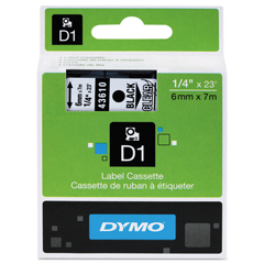 DYM43610 - DYMO® D1 Polyester High-Performance Label Cassettes