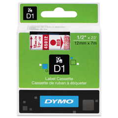 DYM45012 - DYMO® D1 Polyester High-Performance Label Cassettes