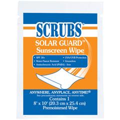 DYM91201 - SCRUBS® Solar Guard™ Sunscreen Wipes