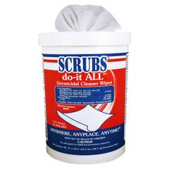 DYM98028 - SCRUBS® do-it ALL. Germicidal Cleaner Wipes