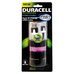ECAPRO428 - Duracell® Sync and Charge Cable
