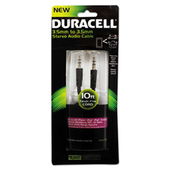 ECAPRO711 - Duracell® Stereo Audio Cable