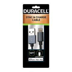 ECAPRO905 - Duracell® Sync and Charge Cable