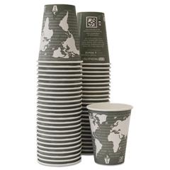 ECOEPBHC12WAPKC - Eco-Products® World Art™ Hot Cups