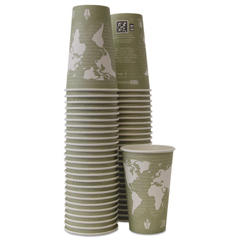 ECOEPBHC16WAPK - Eco-Products® World Art™ Hot Cups
