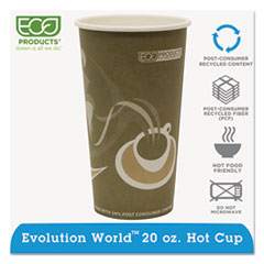 ECOEPBRHC20EW - Eco-Products Evolution World™ 24% PCF Hot Drink Cups