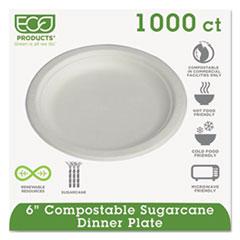 ECOEPP016PKCT - Eco-Products Sugarcane Plates