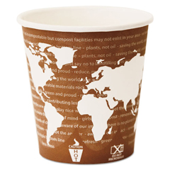 ECPEP-BHC10-WA - World Art Renewable Resource Compostable Hot Drink Cups