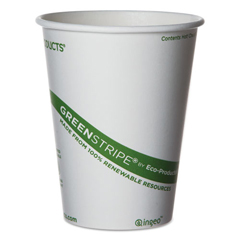 ECPEPBHC12GS - GreenStripe Renewable & Compostable Hot Cups