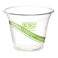 ECPEP-CC9S-GS - GreenStripe Renewable Resource Compostable Cold Drink Cups