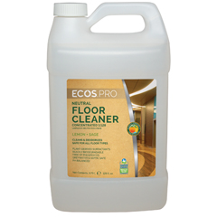 EFPPL9325-04 - Earth Friendly ProductsECOS™ PRO Neutral Floor Cleaner Concentrate Lemon Sage