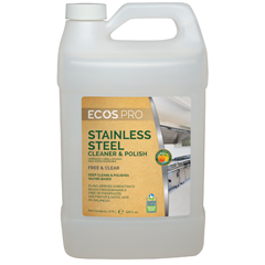 EFPPL9330-04 - Earth Friendly ProductsECOS™ PRO Stainless Steel Cleaner & Polish