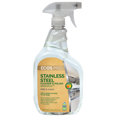 EFPPL9330-6 - Earth Friendly ProductsECOS™ PRO Stainless Steel Cleaner & Polish