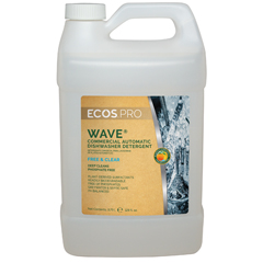 EFPPL9440-04 - Earth Friendly ProductsECOS™ PRO Wave® Commercial Auto-Dishwasher Detergent Free & Clear