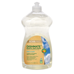 EFPPL9721-6 - Earth Friendly ProductsECOS™ PRO Dishmate Manual Dishwashing Liquid Free & Clear