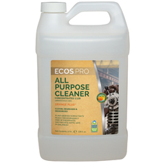 EFPPL9748-04 - Earth Friendly ProductsECOS™ PRO All-Purpose Cleaner-Degreaser Concentrate Orange Plus
