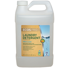 EFPPL9764-04 - Earth Friendly Products - ECOS™ PRO Liquid Laundry Detergent Free & Clear