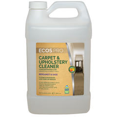 EFPPL9766-04 - Earth Friendly ProductsECOS™ PRO Carpet & Upholstery Cleaner Concentrate Bergamot Sage