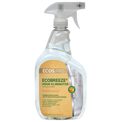 EFPPL9839-6 - Earth Friendly Products - ECOS™ PRO EcoBreeze Odor Eliminator Magnolia Lily