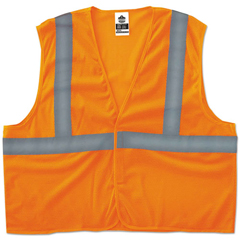 EGO20965 - ergodyne® GloWear® 8205HL Type R Class 2 Super Econo Mesh Safety Vest