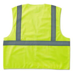 EGO20975 - ergodyne® GloWear® 8205HL Type R Class 2 Super Econo Mesh Safety Vest