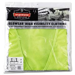 EGO21057 - ergodyne® GloWear® 8210Z Class 2 Economy Safety Vest