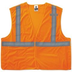 EGO21065 - ergodyne® GloWear® 8215BA Type R Class 2 Econo Breakaway Mesh Safety Vest