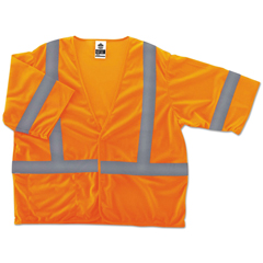 EGO22019 - ergodyne® GloWear® 8310HL Type R Class 3 Economy Safety Vest