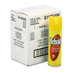 ELB6196406 - Professional Behold Furniture Polish, 16oz Aerosol, Lemon, 6/Carton