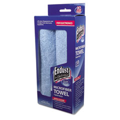 END11421 - Endust for Electronics® Large-Sized Microfiber Towels Two-Pack