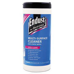 END259000 - Endust® Antistatic Premoistened Wipes for Electronics