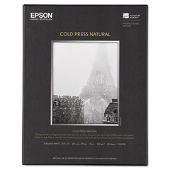 EPSS042297 - Epson® Cold Press Natural Fine Art Paper