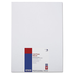 EPSS042300 - Epson® Cold Press Natural Fine Art Paper