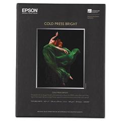 EPSS042307 - Epson® Cold Press Bright Fine Art Paper