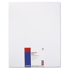 EPSS042311 - Epson® Cold Press Bright Fine Art Paper